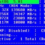 パソコンのメモリー増設後は最初にエラーチェックをする(memtest86+)